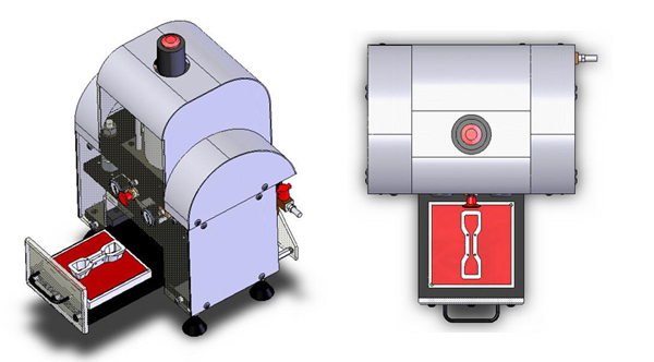 Benchtop Press Illustratoion